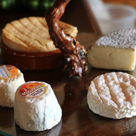 Lifestyle Vacations France – Cheese plate