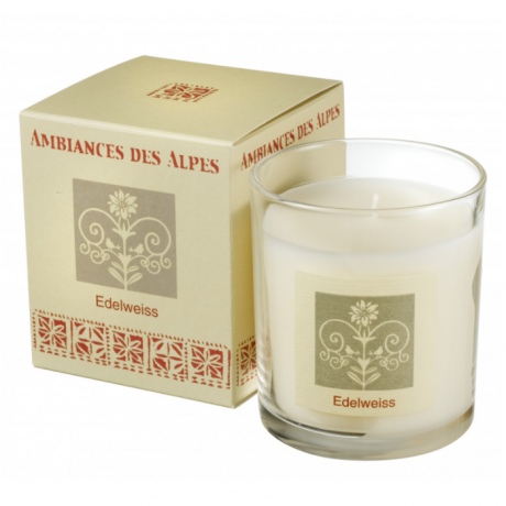 Edelweiss French Alps Candle