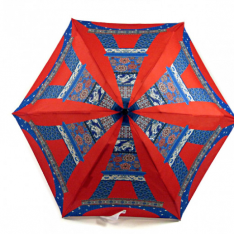 Eiffel Tower French Touc umbrella 1