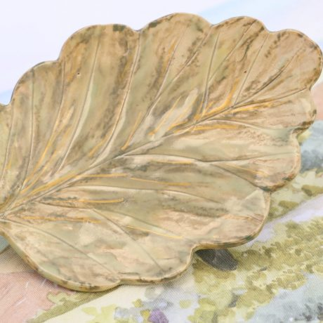 Porcelain leaf-shaped Cheese Plate