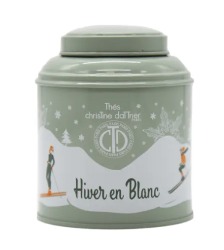 LIFESTYLE VACATIONS FRANCE WINTER WHITE TEA BOX