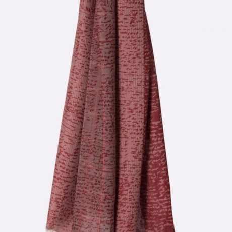 Noe scarf red