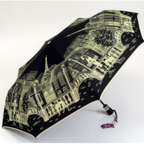 Parisienne umbrella : black