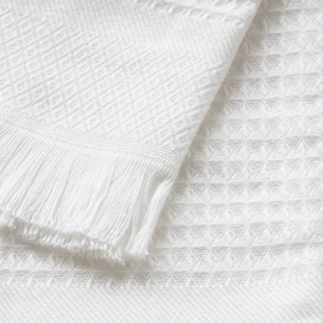 Waffle Design French Cotton Towel