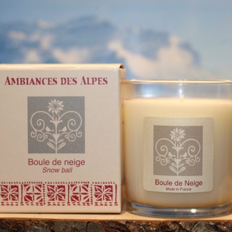 Snow Ball French Alps Candle