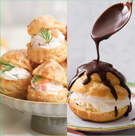 French Choux Pastry Baking Class