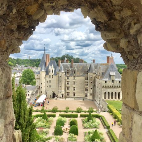 The chateau of Langeais